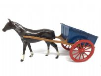 Britains Tumbrel Horse & Cart